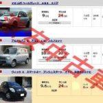 20万円~30万円の激安中古車を買うときに注意したいこと
