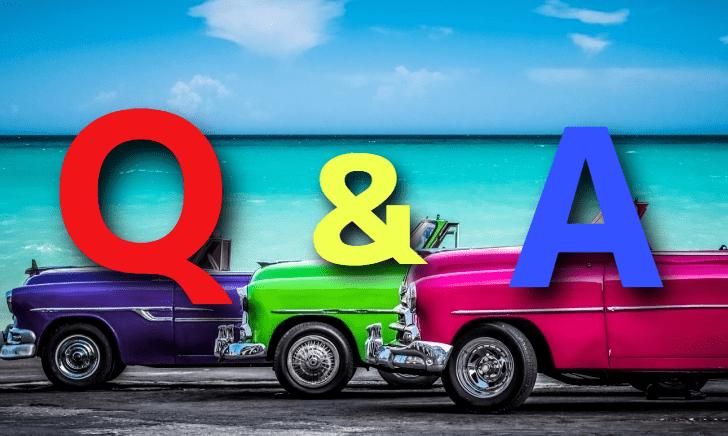 自動車の疑問質問に回答