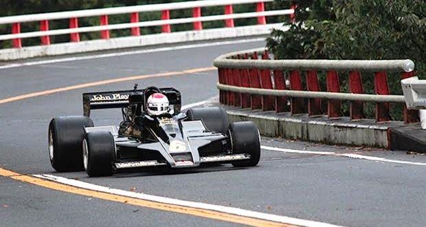 箱根ターンパイクをF1が走るモーターヘッドヒルクライム