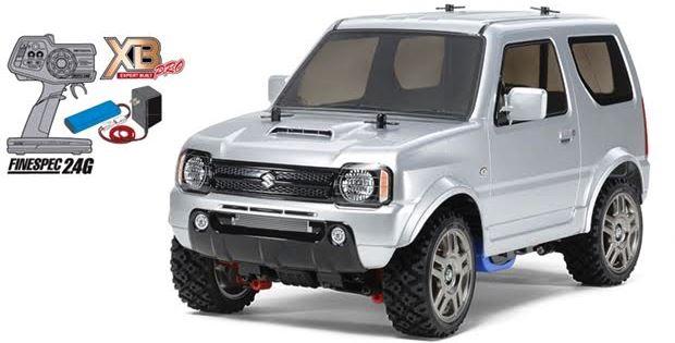 スズキの4WDオフロード『ジムニー』JB23のラジコンカー