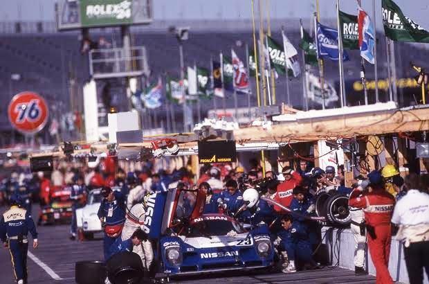 デイトナ24時間レースで総合優勝した日本人と日本車【 日産R91CP 】