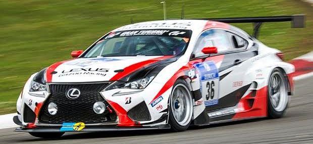 ニュルブルクリンク24時間レースに参加する日本車