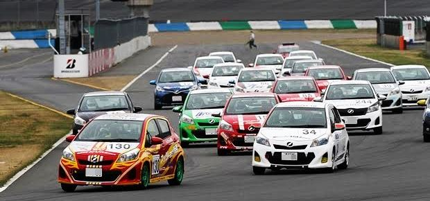 Nets Cup Vitz Race アマチュアのためのレース