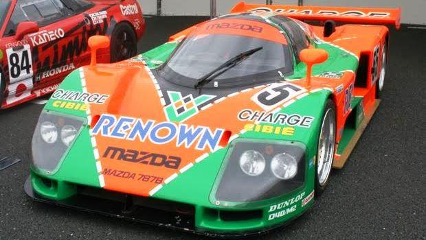 ル・マン24時間レースで優勝した日本人・日本車【マツダ787B】