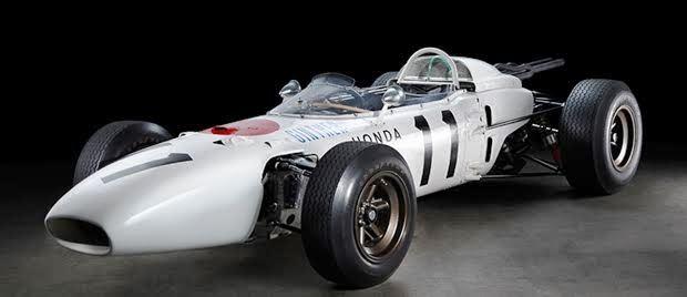 ホンダとグッドイヤータイヤがF1で初優勝したマシン【 Honda RA272 】