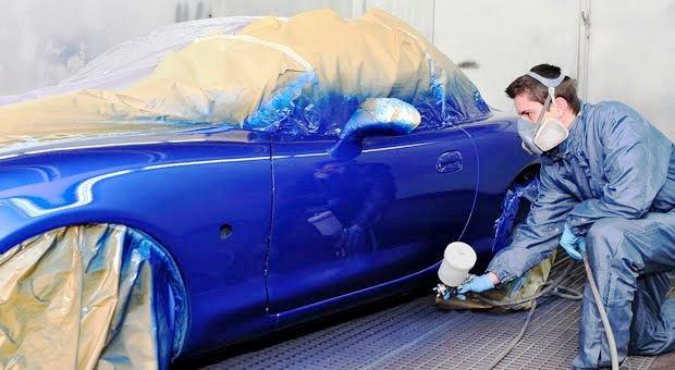 全塗装した車を売却すると買取査定に影響するのか