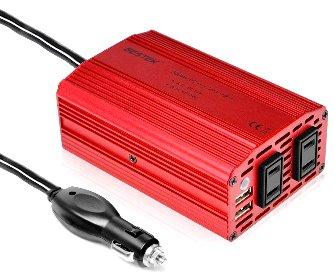 車内で家電製品が使えるDC-ACインバーター